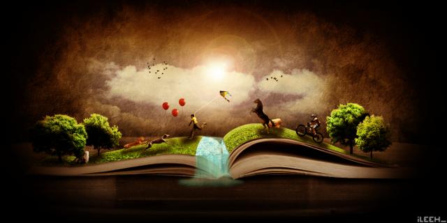 Magic_Book_by_iLeeh95
