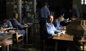 biblioteca de la prisión