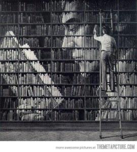 Imatge extreta de: http://themetapicture.com/reading-books-within-books/