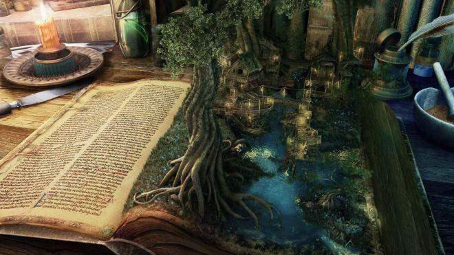 Fairy Tale Fantasy Book Imatge