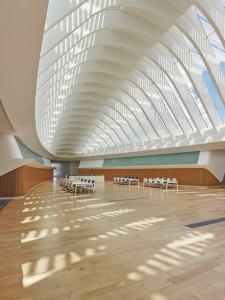 Interior de la biblioteca de Florida