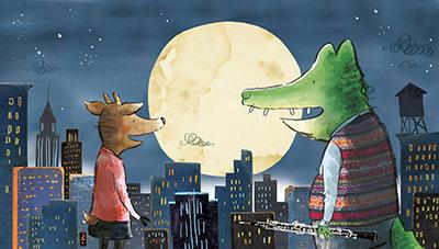 Herman-Rosie-davant la lluna