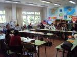 Trobada amb els mestres del CP Toni Juan (Maó)
