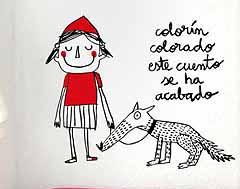 vinilos-cuento-caparucita-roja-Anna-Llenas-chulakids-ropa-infantil-chula1