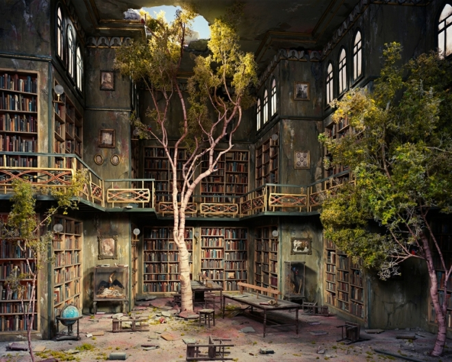 Book-iPad-wallpaper-The-Old-Library