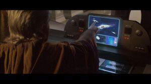 obi-wan frente al ordenador