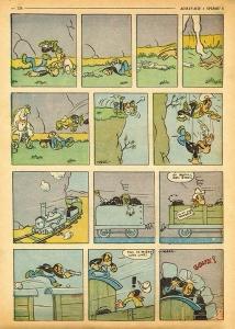 Primer dibuix de Lucky Luke