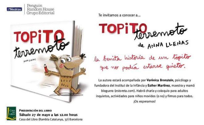 Un talpet for a inquiet la invitaci a la lectura - Casa del libro barcelona rambla catalunya ...